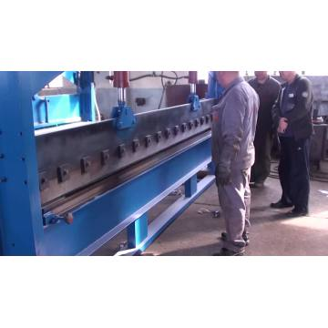 HuaTong 4m length plate iron bending machine