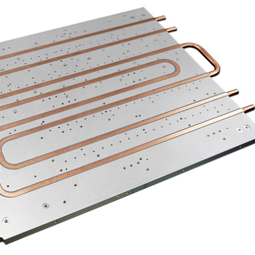 Aluminum water cold plate cooling heat sink