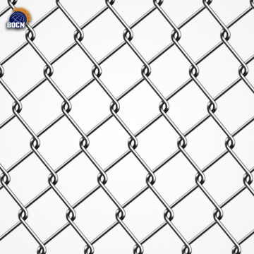 blue pvc coated chain link fence