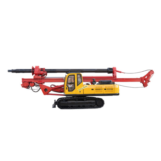 Small portable pile driver for construction site