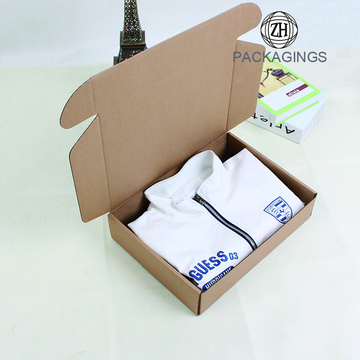 Luxury hard t shirt packaging boxes