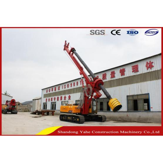 DR-160 40 meter rotary pile driver