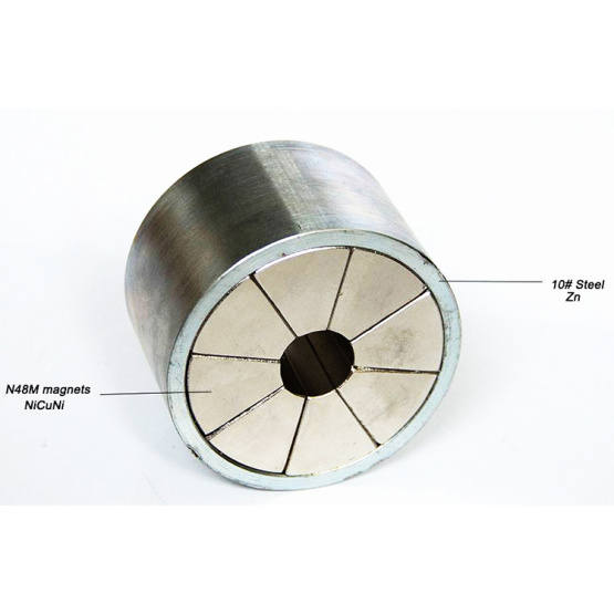 Magnet couplings for magnet driven pump