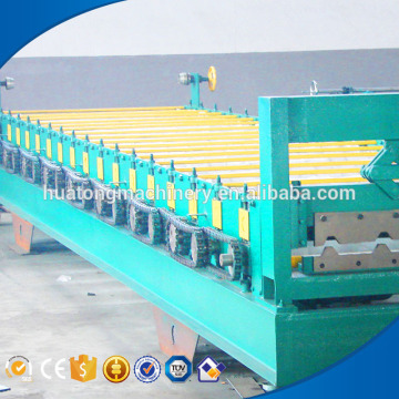 Fully automatic corrugated roofing sheet roll forming machine