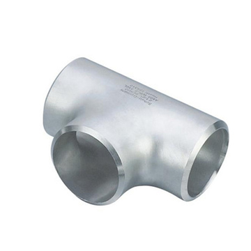 SS304 Stainless Steel Bw Seamless Equal Tee