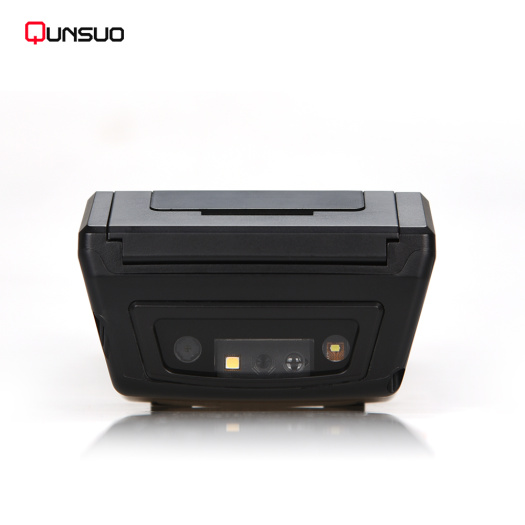 Portable UHF RFID scanner PDA with printer