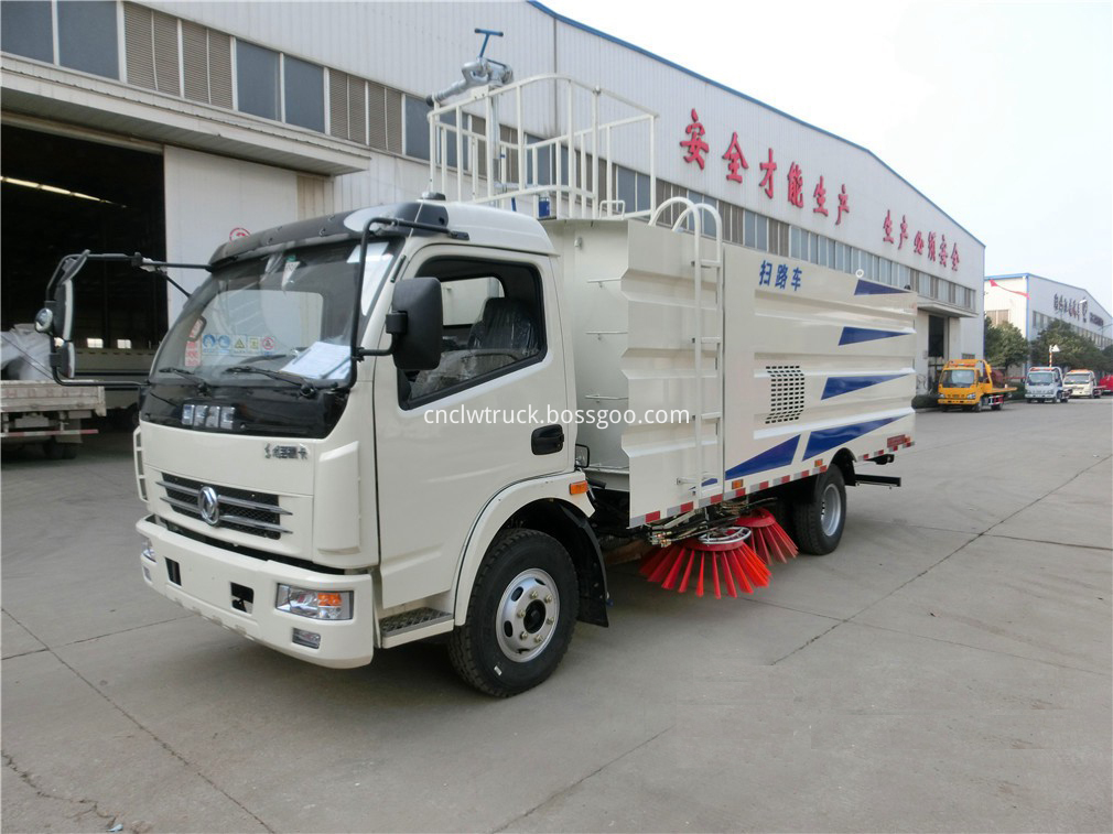 commercial sweeper truck 2