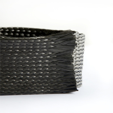 Expandable Braided Carbon Fiber Sleeve