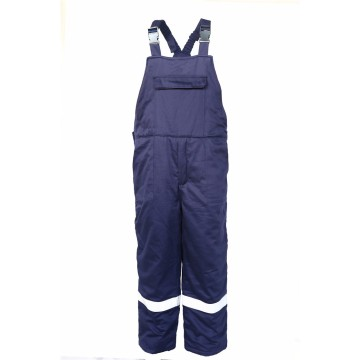 FR water oil repellent antistatic winter bib pants