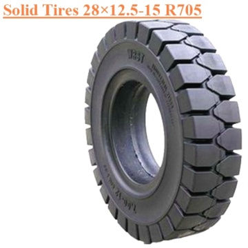 Industrial Forklift Vehicles Solid Tire 28×12.5-15 R705