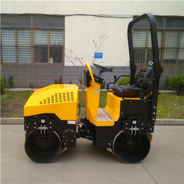 Small steel wheel road compactor price