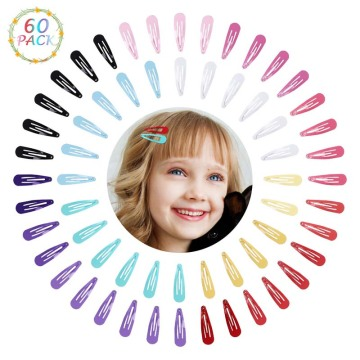 Kordear Colourful Metal Hair Clips - 60P