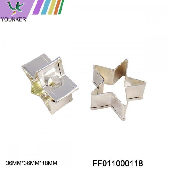 colorful custom different shape metal ornament