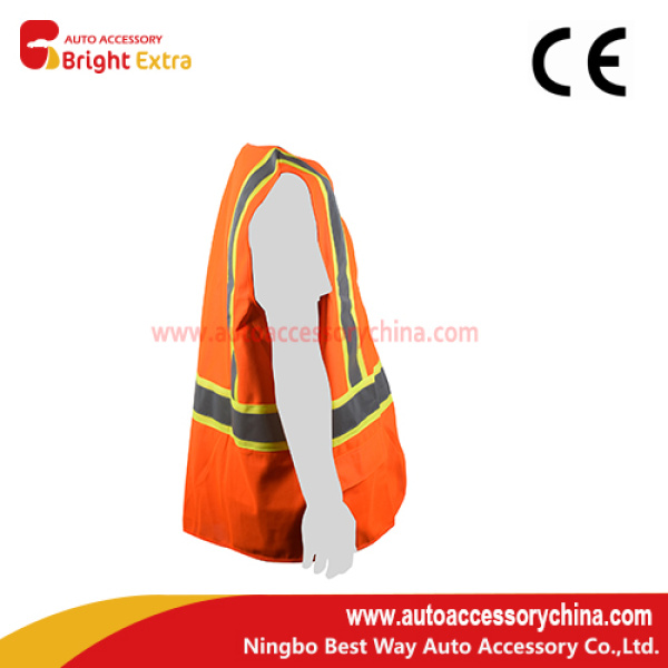 High Visibility Polyester Safety Vest