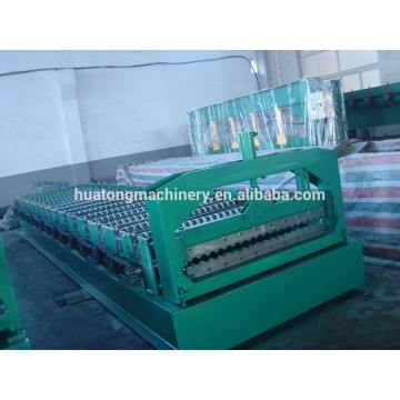 Factory direct corrugated iron sheet making roll forming machine price