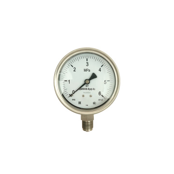 Stainless Steel Case Bourdon Tube Pressure Gauge