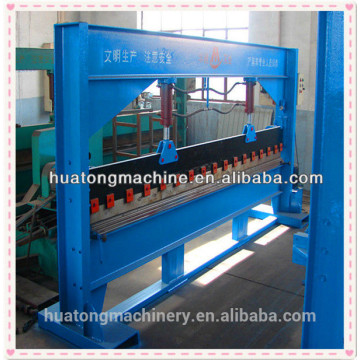 Steel hydraulic bender machinery