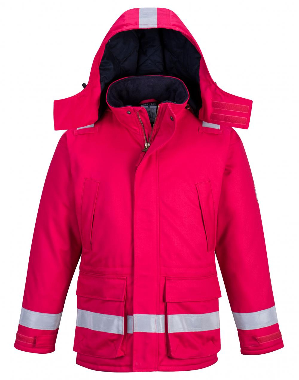 Anti Static Winter Jacket Red