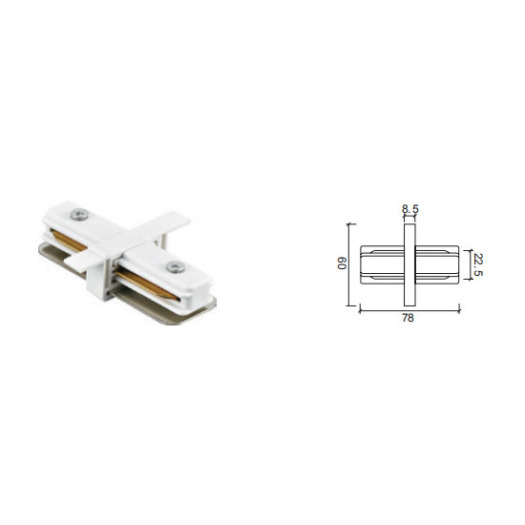 Straight Connector MiNi Track For Light
