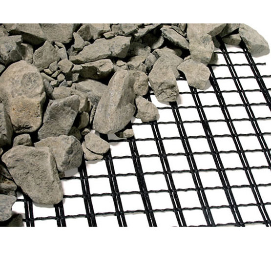 Fiberglass Geogrid Laminated To Nonwoven Geotextile