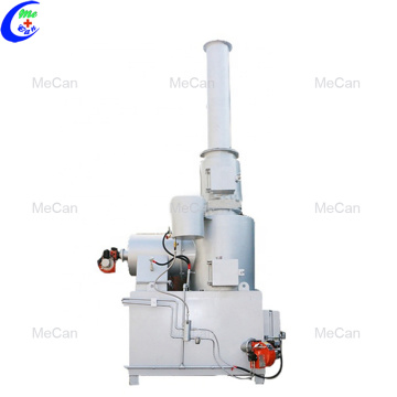 Easy to operating hospital home waste incinerator