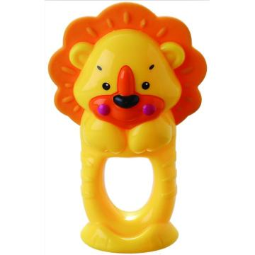 Baby Bathing Ring Toy Lion Teether Bell Toy