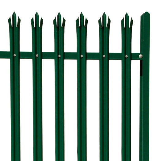 easy install village decorative steel Color Powder Coated Palisade Fencing