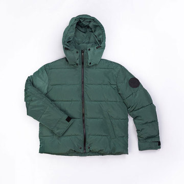 Male`s  Polyester down jacket
