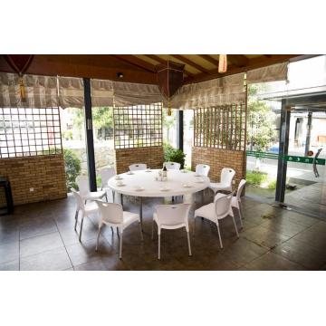 180cm Outdoor Plastic Round Table