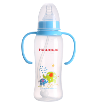 270ml Baby Milk Nursing Bottle PP Feeding Bottle