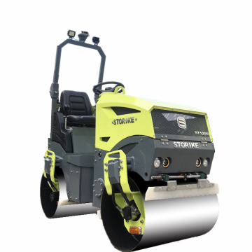 New full hydraulic ride-on road roller compactor