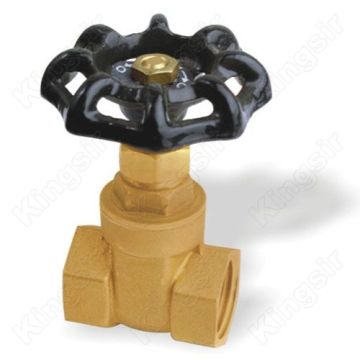 Straight-through Brass Gate Valves