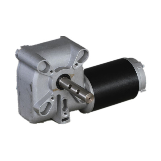 ZJD8025 brushed dc gear motor/ permanent magnet 12V dc gear motor with worm gearbox 80mm
