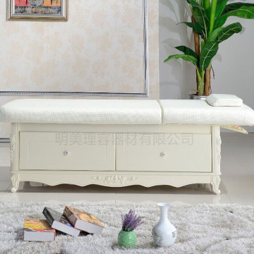 salon beauty center Wooden massage facial bed