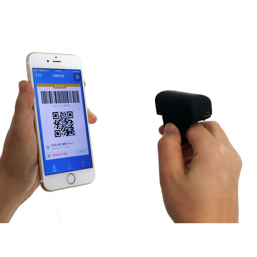 Portable bluetooth Mobile Ring barcode scanner