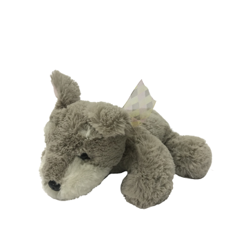 Plush Dog Gray for Sale