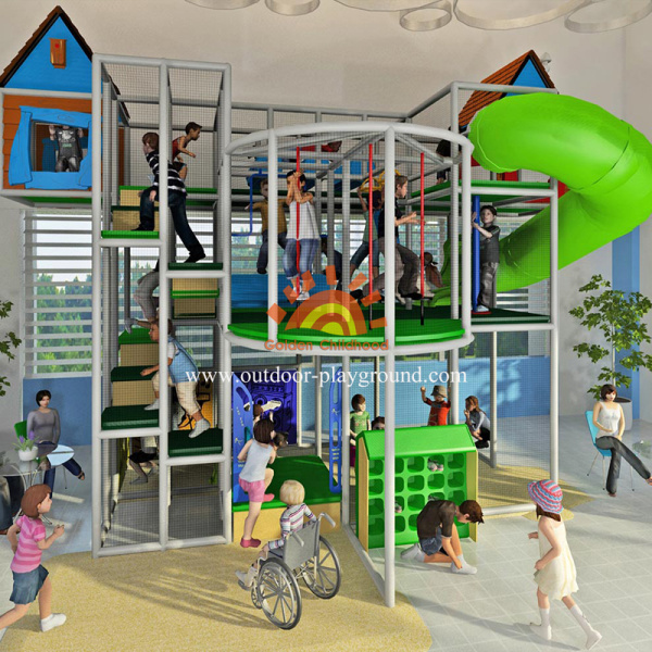Indoor Playgrounds Soft Play Structures With Tube
