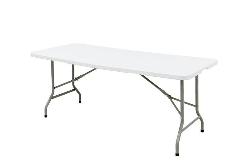 HDPE Table Top with Metal Leg