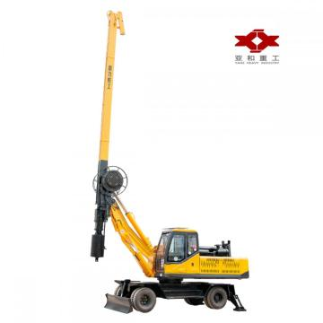 High quality 20m wheeled pile driver machinery