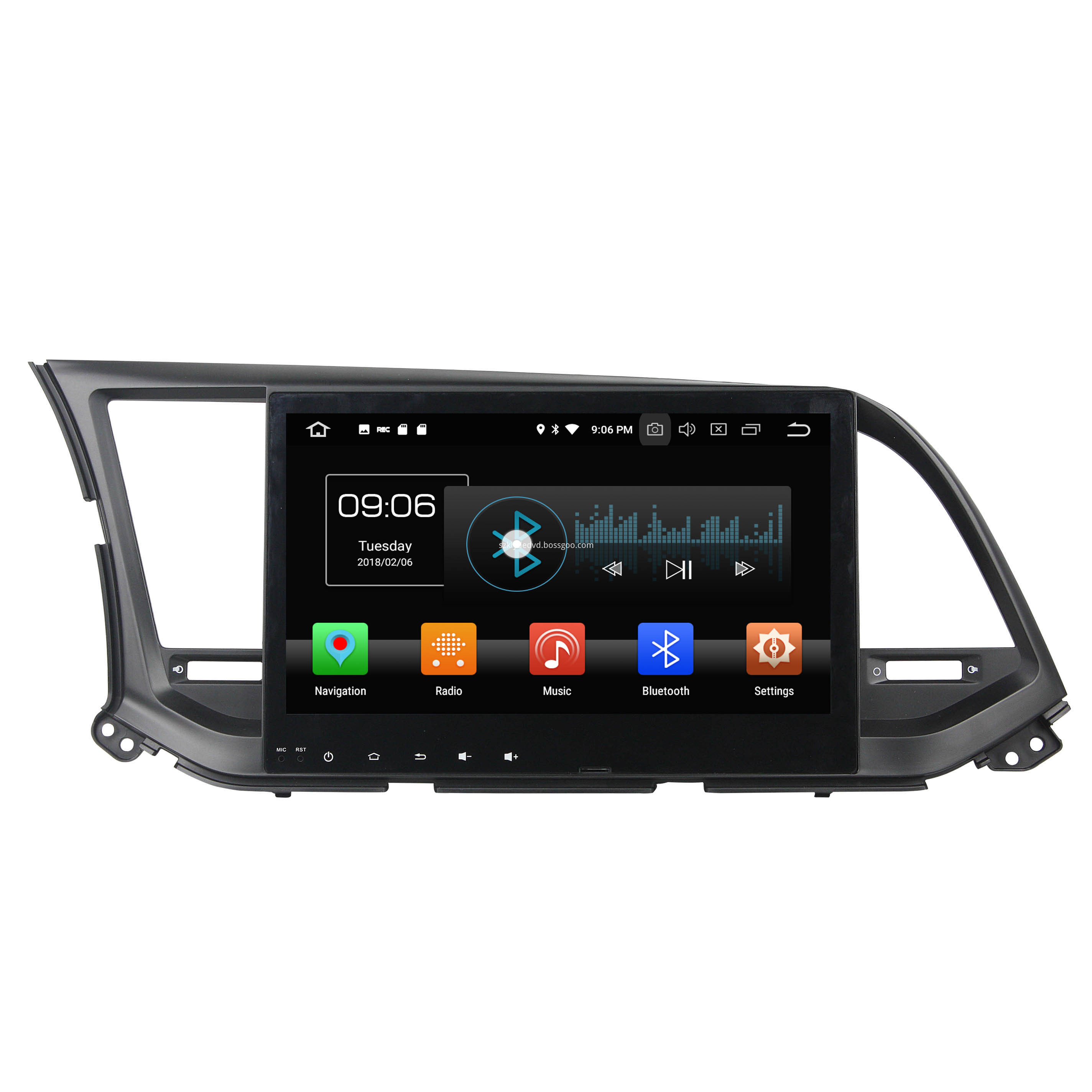 car entertainment for Elantra 2016