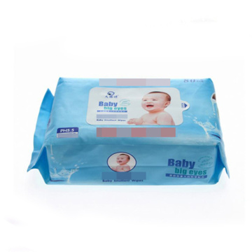 Organic Biodegradable Bamboo Fibre Lemon Flavor Baby Wipes For Children Face