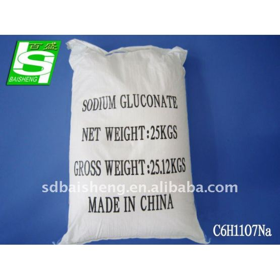 tech/food grade sodium gluconate 99%