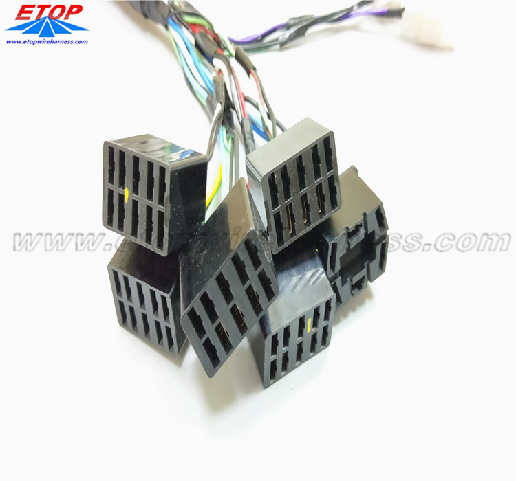 Cable Assembly with Auto Relay LCR01F-Fb-1C-12VDC