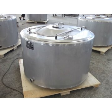 Stainless steel milk cooling mixing tank