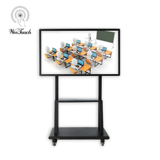 55 inches interactive whiteboard with mobile stand