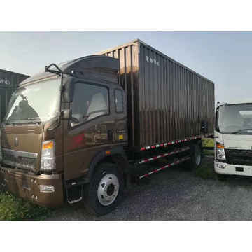 16 Tons Light Duty Trucks Howo Van Truck