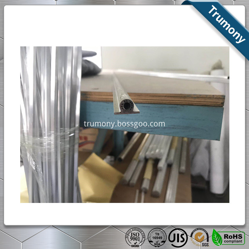 Aluminum Round Tube With Plate