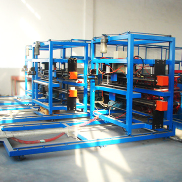 eps sandwich panel z locking roll forming machine