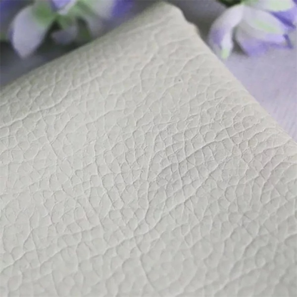 Litchi Embossed PU Leather for Car Seat