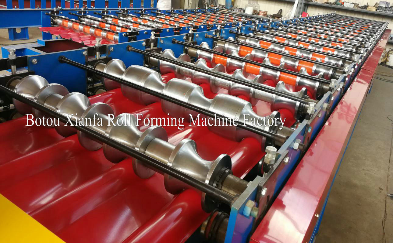 tiles forming machine